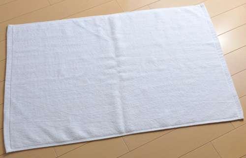 「バスタオル」と脱衣場の「足拭きマット」 一緒に洗濯しますか?