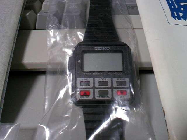 セイコー 腕ターミナル (SEIKO RC-1000) ※前編
