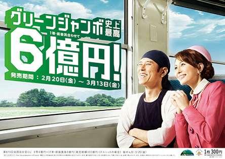 【当選発表】グリーンジャンボ宝くじ
