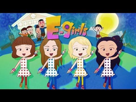 E-girls / おどるポンポコリン ~Animation Clip~ - YouTube