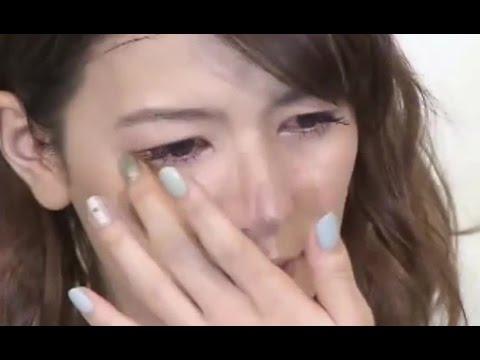 スザンヌが離婚会見で涙 - YouTube
