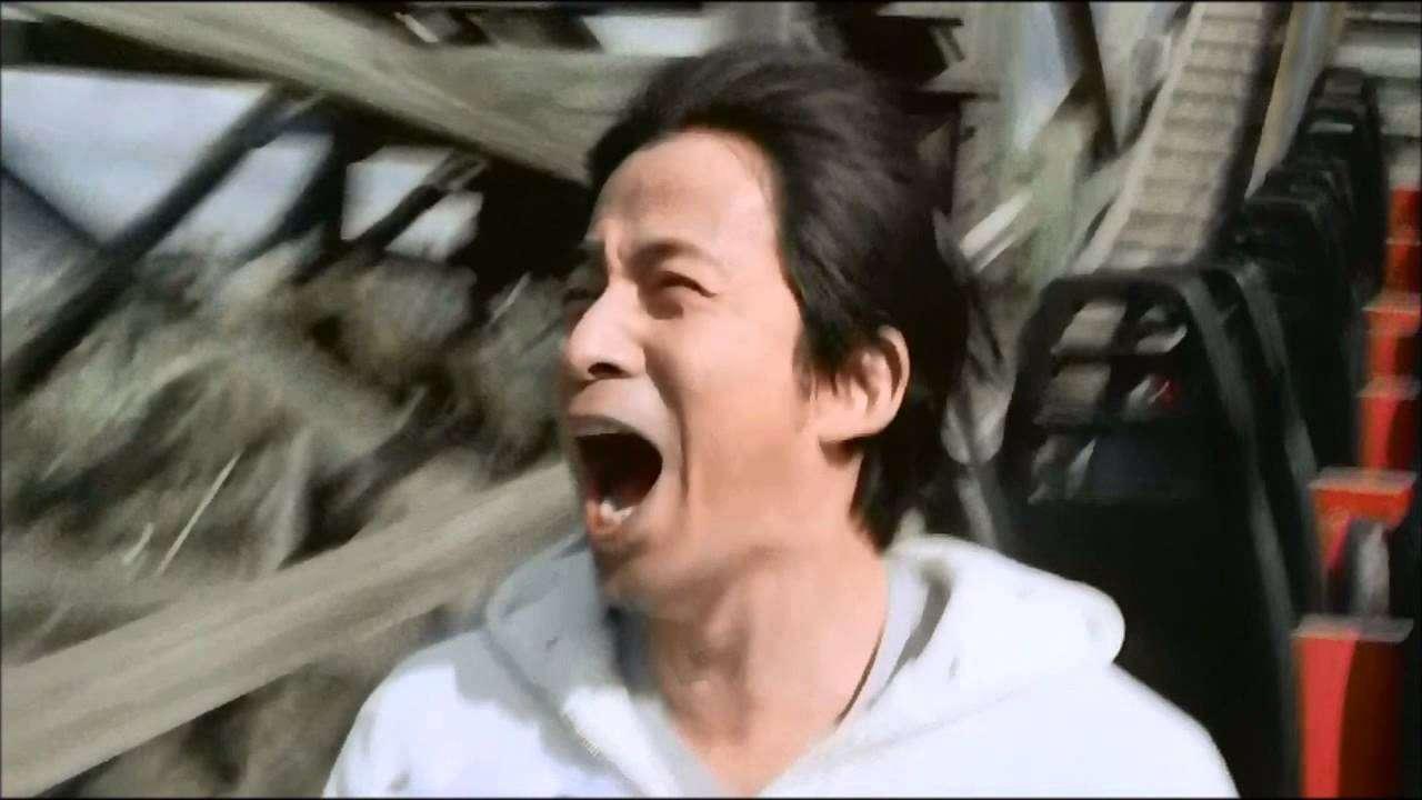 ひらかたパーク 新CM 2015年春 「おまライド」篇 岡田准一 超ひらパー兄さん - YouTube