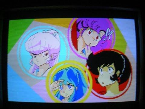 80年代PCによる当時のアニメCGデモ