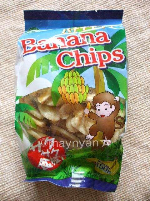 【バナナチップ】神戸物産「バナナチップ」 - チーズな毎日♪