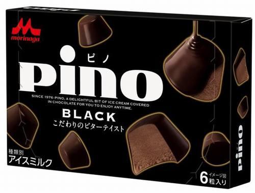 本格ビターな大人向け「ピノ」、甘さ控えめで酸味と苦みのカカオ風味