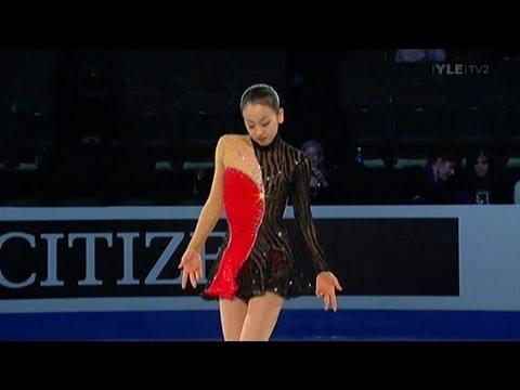 Mao Asada - Closing Gala - 2009 World Figure Skating Championships - YouTube