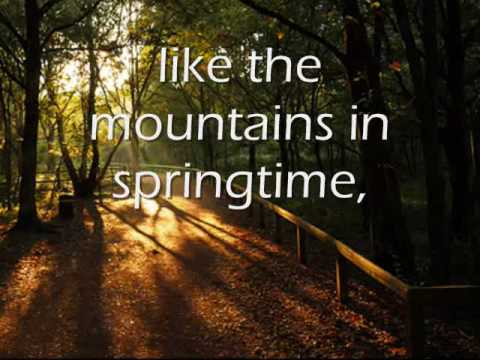 ANNIE'S SONG LYRICS BY JOHN DENVER - YouTube