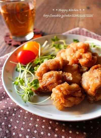 レンジで7分!さっぱり柚子胡椒唐揚げ たっきーママ オフィシャルブログ「たっきーママ@happy kitchen」Powered by Ameba