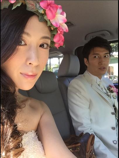雛形あきこ、ハワイで結婚2年目の花嫁姿 義母のプレゼント旅行で