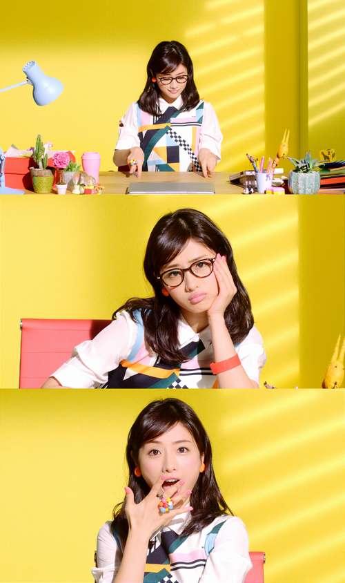 """超絶色っぽ可愛い石原さとみ、ウェブ限定動画で""""ぷにぷにダンス""""を披露"""