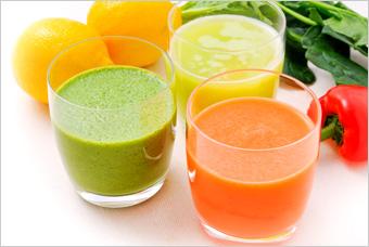 美味しい野菜ジュース(果物入り)の作り方は、なんですか?