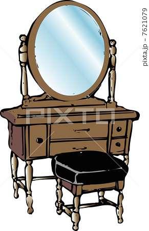 家でのお化粧、どこでしてますか?