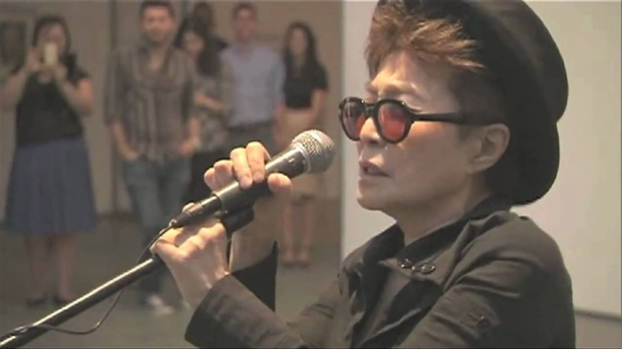 VOICE PIECE FOR SOPRANO & WISH TREE at MoMA, Summer 2010 by yoko ono - YouTube