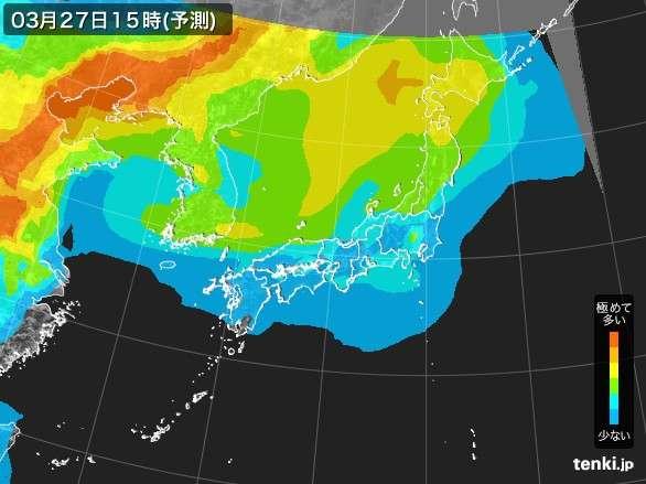 PM2.5分布予測 - 日本気象協会 tenki.jp - tenki.jp