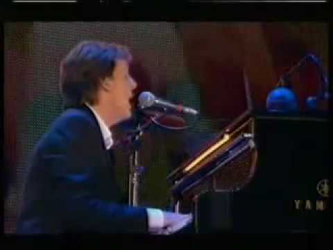 The Beatles - The Long and Winding Road (LIVE - 90´s) - YouTube