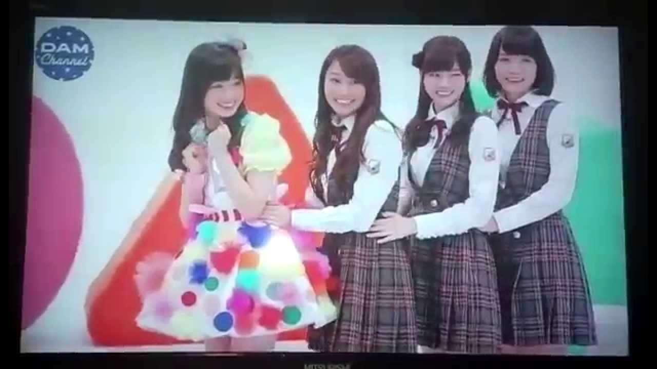 橋本環奈×乃木坂46 (桜井・西野・深川) - DAMチャンネル2014年4月 - YouTube