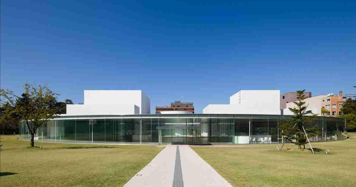 金沢21世紀美術館 | 21st Century Museum of Contemporary Art, Kanazawa.