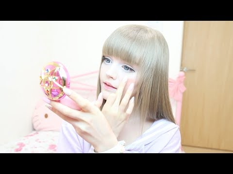 アニメチークCandy Dollで作る - YouTube