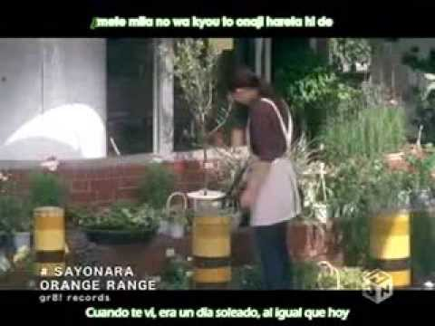 Orange Range   Sayonara Sub Español - YouTube