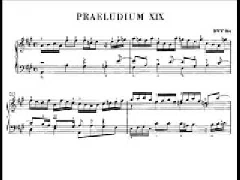 Bach: WTC1 No. 19 in A major BWV 864 (Richter) - YouTube