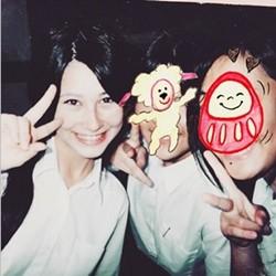 ダレノガレ明美 女子高生時代の写真公表 黒髪ですっぴん「モテ期でした」