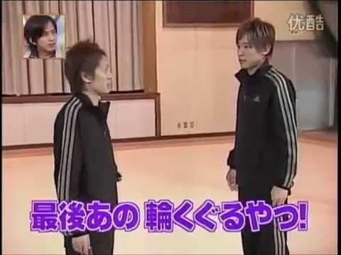 V6・坂本昌行 森田剛が新体操の団体演技に挑戦!! - YouTube