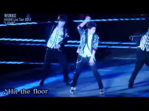 少クラ 大野智ソロ Hit the floor - YouTube