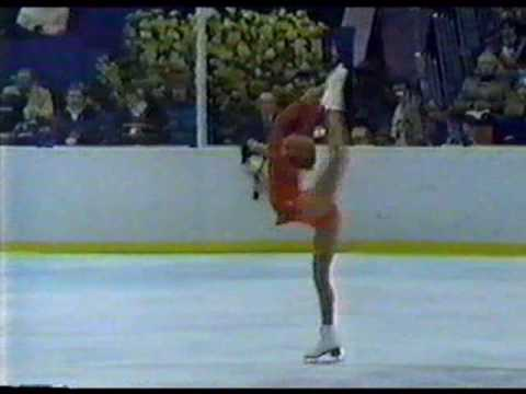 Denise Biellmann (SUI)  - 1980 Lake Placid, Ladies' Long Program - YouTube