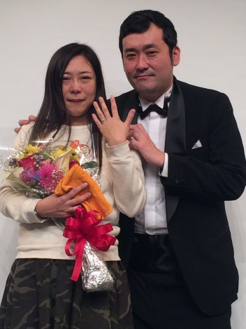 椿鬼奴&グランジ佐藤大がついに結婚へ「幸福にできるように頑張る」 求婚に鬼奴は号泣