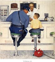 嵐の大野智さんも憧れるアメリカを代表する画家ノーマン・ロックウェルの絵を集めるまとめ - NAVER まとめ