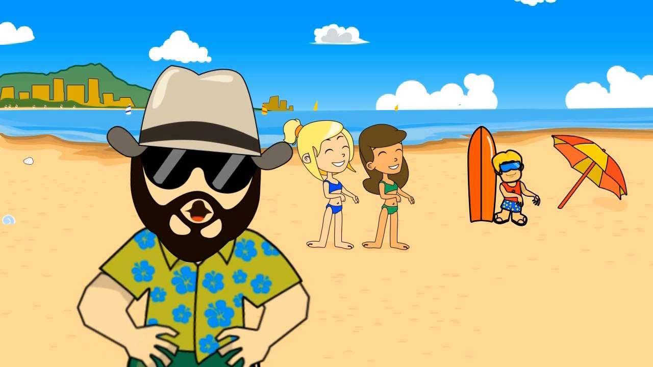 "THE DUKES OF SURF - ""HUMUHUMUNUKUNUKUAPUA'A"" (ENGLISH VERSION) - YouTube"
