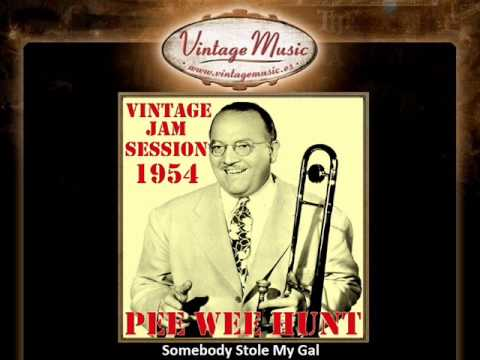 Pee Wee Hunt - Somebody Stole My Gal - YouTube