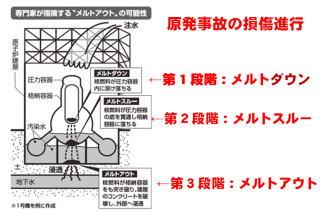 炉内燃料、ほぼ全量溶融…調査により初めて確認 福島第1原発1号機