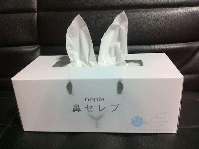 1箱1万円する超高級「十二単ティッシュ」月に50箱売れる
