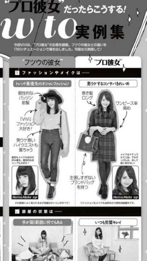 ファッション誌『ViVi』の提唱する「プロ彼女」が単なる