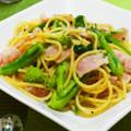 *菜の花とベーコンの柚子胡椒パスタ* by ジュエリーママ [クックパッド] 簡単おいしいみんなのレシピが198万品
