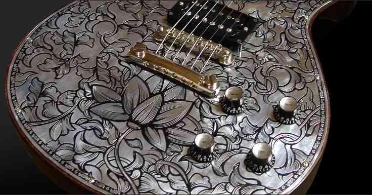 個性的なギターの画像トピ