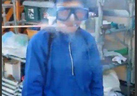 口にロケット花火の動画投稿 負傷の男性「遊びでやった」→警察は悪ふざけと判断