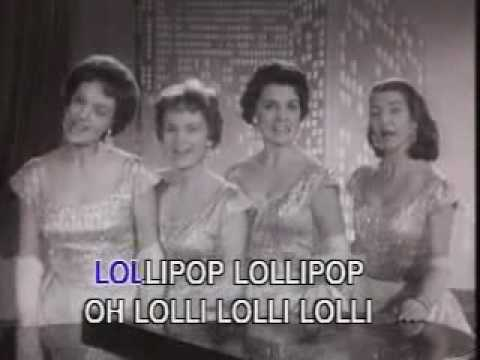 The Chordettes - Lollipop - YouTube