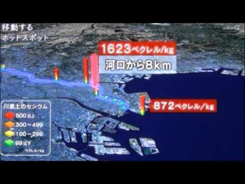 東京湾放射能汚染は福島原発20km圏内の海と同等 NHKスペシャル - YouTube