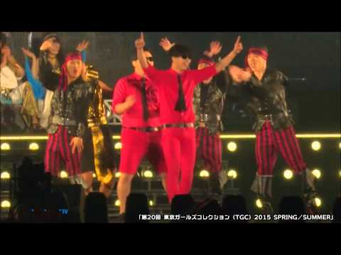 TGC限定ネタ ラッスンゴレライ!8.6秒バズーカー 東京ガールズコレクション - YouTube