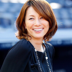 米倉涼子の笑顔