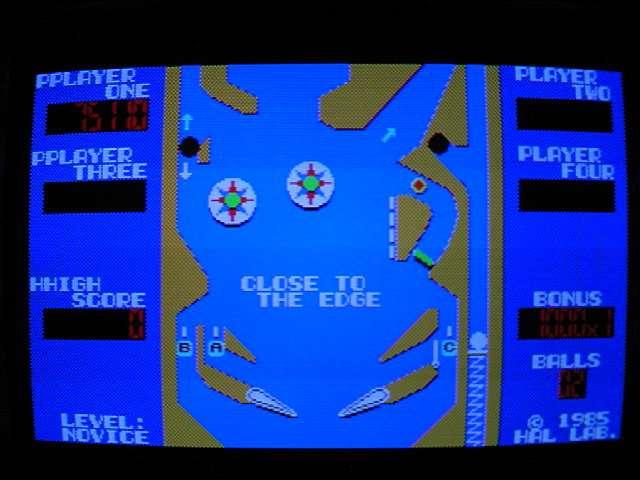X1用ソフト ローラーボール (HAL研究所) 1985年 #後編