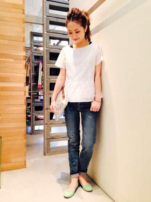 レイ ビームス 原宿|Amiさんのシャツ/ブラウスを使ったコーディネート - ZOZOTOWN