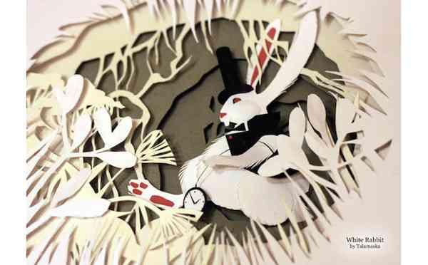 幻想的で美しい!「不思議の国のアリス」のペーパークラフトが話題に − ISUTA(イスタ)オシャレを発信するニュースサイト
