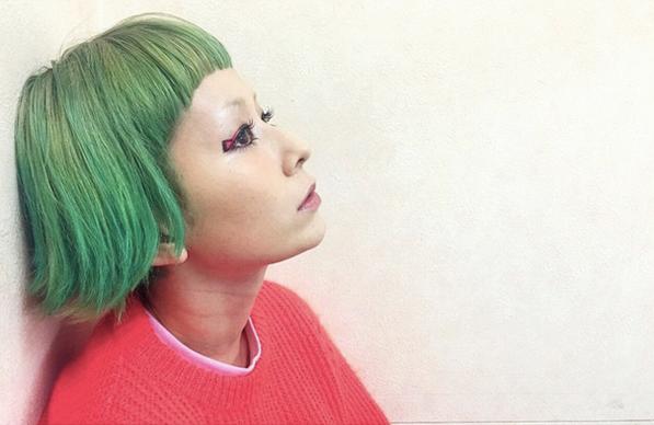 木村カエラ、緑髪にイメチェン 個性溢れるヘアスタイルに反響