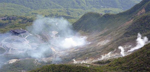 【箱根山】「噴火より風評被害が心配」温泉街直撃、宿泊キャンセル相次ぎ