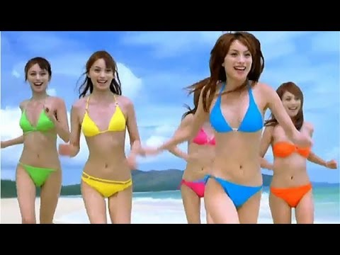 蛯原友里 資生堂 アネッサ CM 2007年 - YouTube