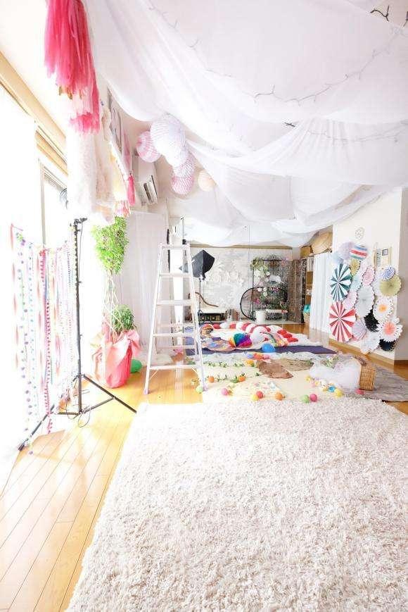 世界初「おひるねアート専門スタジオ」がオープン