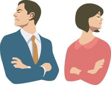 性格の不一致が理由で離婚した方